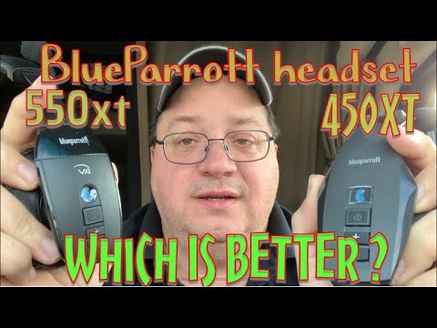 BlueParrott Headset 550xt Unbox And Review To The BlueParrott 450xt