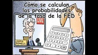 Cómo se calculan las probabilidades de cambio en la tasa de la FED