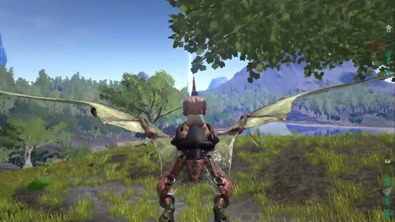 ark pteranodon landen