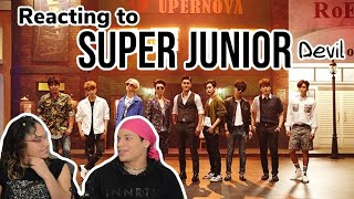 Waleska & Efra react to SUPER JUNIOR 슈퍼주니어 'Devil' REACTION!…