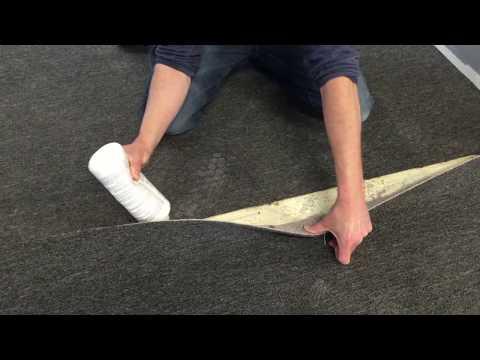 How to cut and seam glue down indoor/ outdoor carpet carpettoolz.com