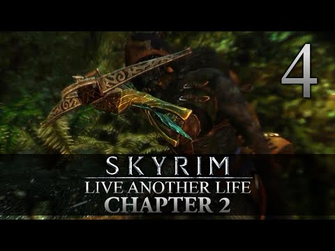 DANGEROUS GAME HUNTER! - Skyrim: Live Another Life Chapter 2 Let's Play 4 (Skyrim/Mods/PC)