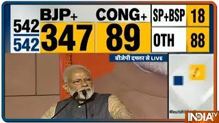 Lok Sabha Election Results 2019   PM Modi Delivers Victory Speech At BJP Headquarters