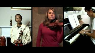 Final Fantasy 4 Theme of Love: Piano Violin Viola Collab