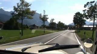 ... im BMW 502 unterwegs ...