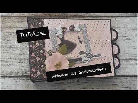 Tutorial | Minialbum Aus Briefumschlägen | Photoplay Paper Vintage Girl