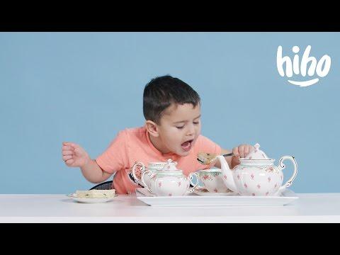 American Kids Try 'More' Tea | Kids Try | HiHo Kids