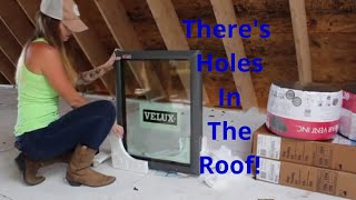 there-s-holes-in-the-roof-cutting-out-the-sky-lights