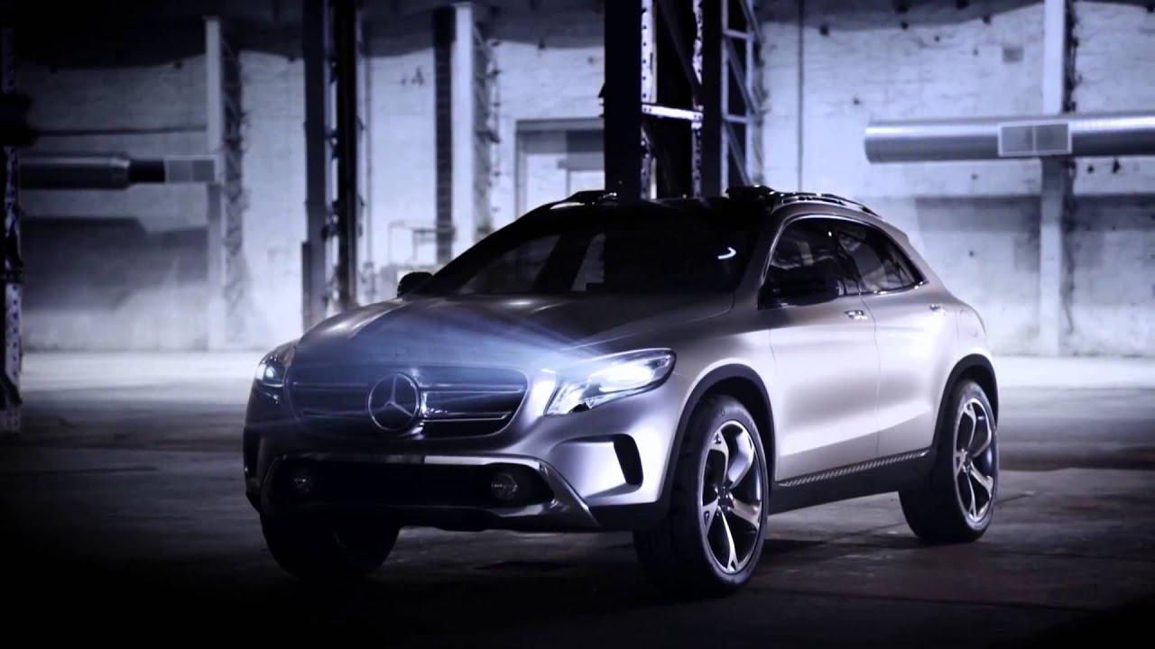 Mercedes Concept GLA tanıtım ve lansman videosu