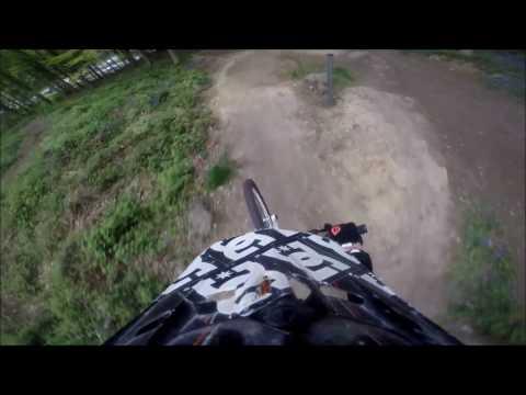 Esholt Downhill MTB POV Helmet Cam Enduro Mountain Bike Leeds