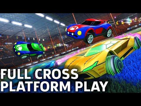 Rocket League Full Cross-Platform Play Available thumbnail