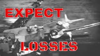 WWII NAVY AIRCRAFT CRASH LANDINGS Silent Film
