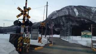 北上線和賀仙人駅 → 国道107号 → 岩沢駅