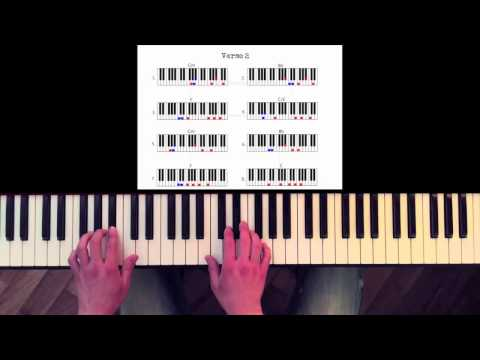 How To Play: Paradise -- Coldplay (Advanced). Original Piano Lesson. Tutorial By Piano Couture.