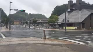 三春交流館まほら 台風10号