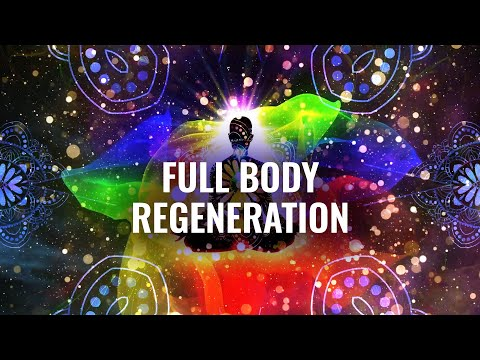 Full Body Regeneration -- 7.83 Hz & 3.5 Hz, Whole Body Healing, DNA Stimulation -- Binaural Beats