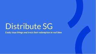 OGP Hackathon 2020 - Distribute SG