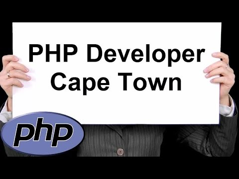 PHP Developer Cape Town 888-411-2221 - PHP Programming