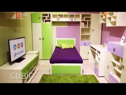 Мебель для детской комнаты Cubik  / Кубик (Аква Родос). Магазин детской мебели BABY ROOM в Одессе.