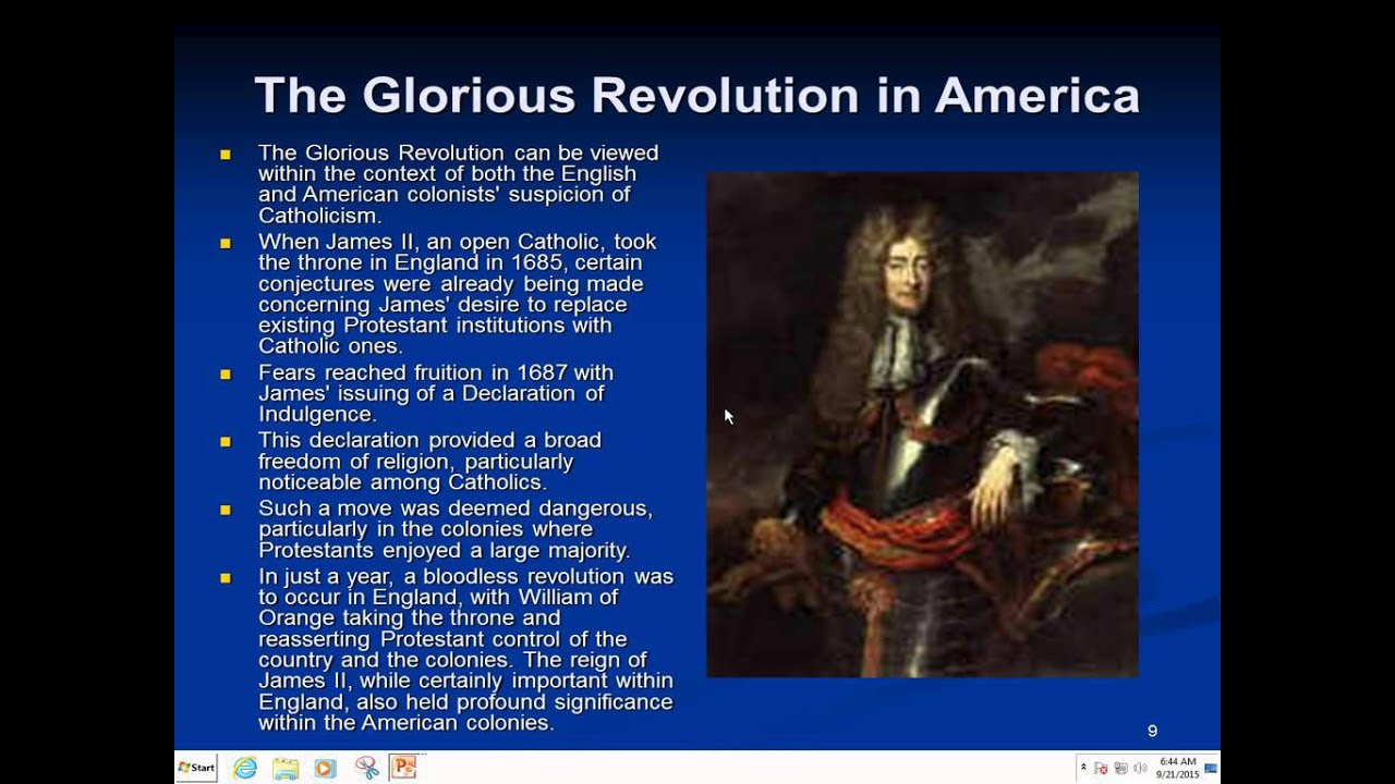 the causes of the glorious revolution The glorious revolution was an event in the history of england and scotland in 1688 the people of england and scotland did not like the king, king james ii because.