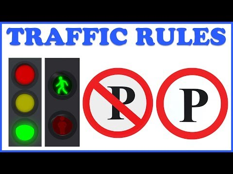 Learn Traffic Signs & Road Safety | Learning & Education | Teddy & Timmy Poems For Kids