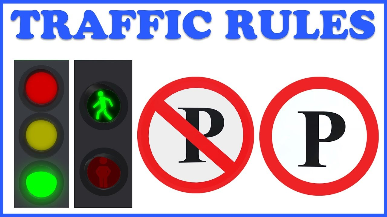 Learn traffic signs road safety learning education teddy timmy poems for kids