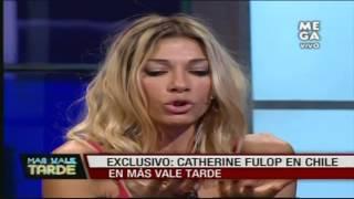 Catherine Fulop habla de su relación con Fernando Carrillo