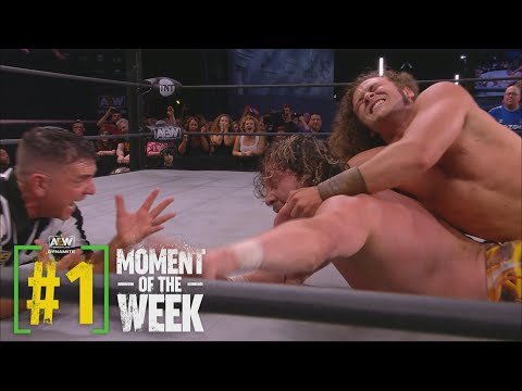 Was Jungle Boy Able to Fulfill His Destiny Against the Champ?   AEW Saturday Night Dynamite, 6/26/21