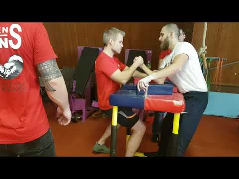 Armwrestling BADEN BISONS - Training Vorbereitung Deutsche Meisterschaft 2020