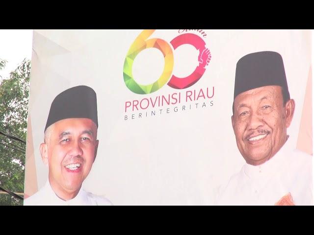 UPACARA HUT RIAU KE 60 DI BADAN PENGHUBUNG PROV RIAU