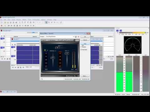 Tutorial Frios o Cuñas Musicales en Sound Forge Pro 10