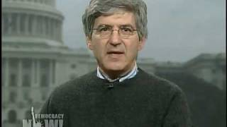 """The Fed Who Blew The Whistle"""" on Democracy Now (1 of 2)"""