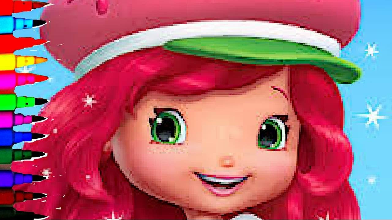 Strawberry Shortcake BEST Coloring Book Pages Kids Fun Art ...