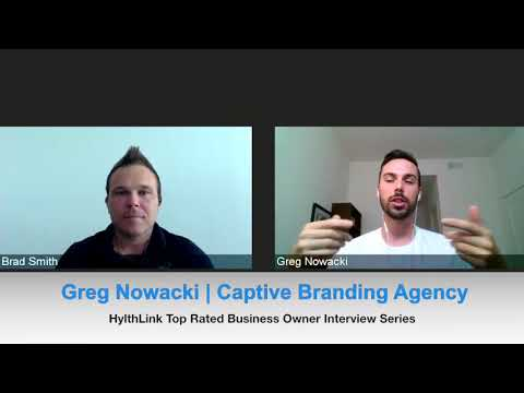 Trusted Business Owner Interview Series | Greg Nowacki | Captive Branding Agency