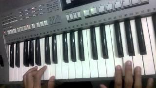Belajar keyboard dan Piano agu anak-anak Cicak-Cicak di Dinding