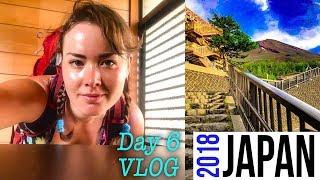JAPAN VLOG Day 6 - Nagoya cycling, Raining in Japan, Eiffel Tower, VEGAN food Convenient store