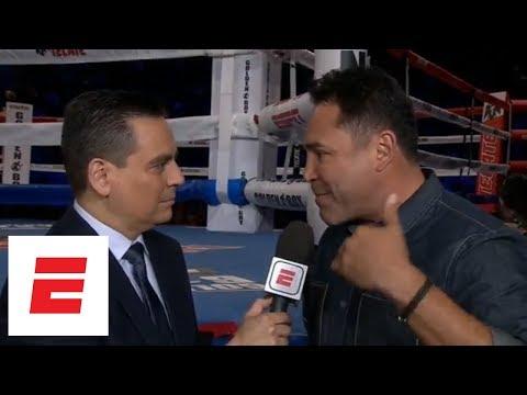 Oscar De La Hoya calls Triple G's comments on Canelo 'ridiculous' | ESPN
