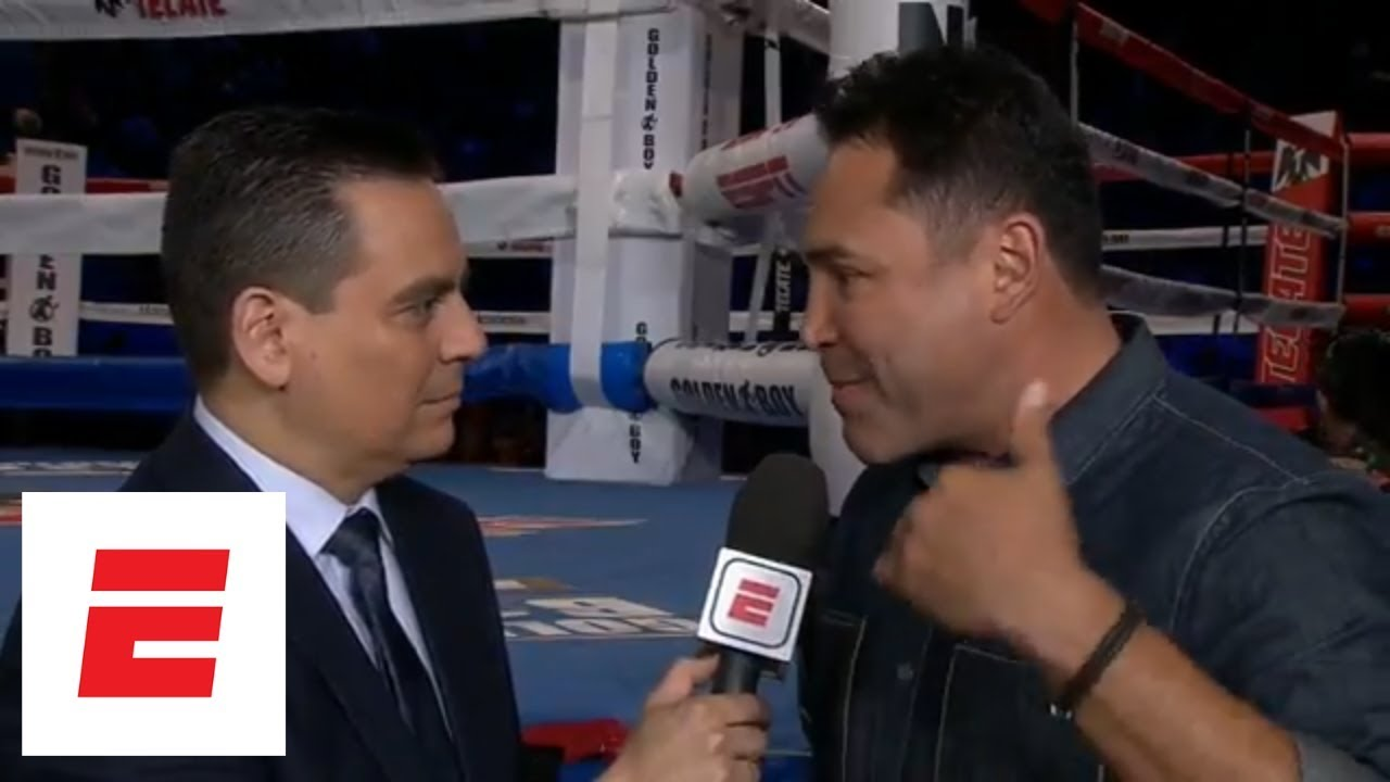 Oscar De La Hoya calls Triple G's comments on Canelo 'ridiculous' | ESPN