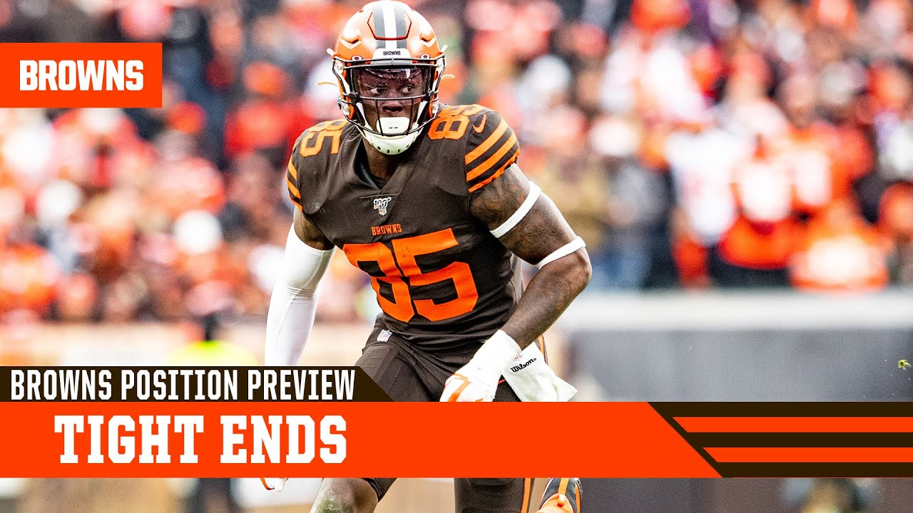 Hooper, Bryant add to bolstered tight end room | Browns Position Preview