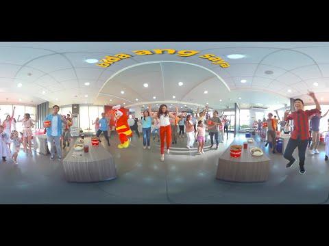 Jollibee's Amazing 360° Music Video