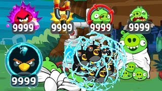 Angry Birds - 9999+ ELECTRIC SHOCK WAVE BIRDS R.I.P BAD PIGGIES ANYWAY!