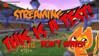 Wizard101 LIVE: testing testing 123 dont watch 2.0