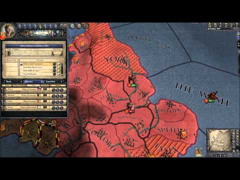 Crusader Kings 2 Gameplay How To Invade England As Norway