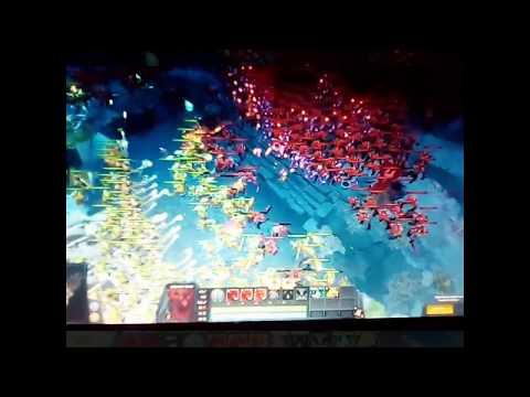 ВОЙНА!!! 400 крипов! DOTA 2. Кто сильнее силы света или силы тьмы?