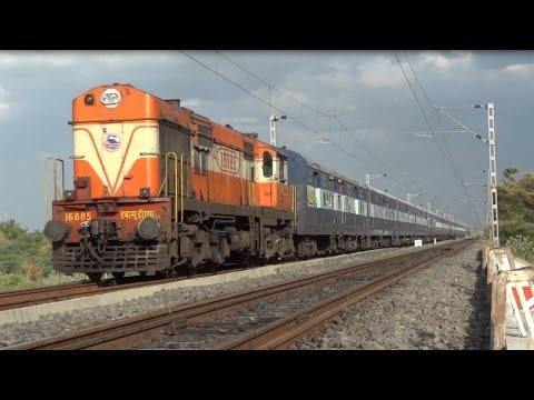 Tirunelveli - Trichy Intercity Express - Madurai (Sep 2012)