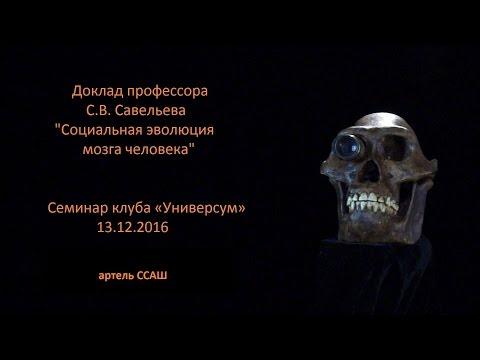 Доклад С.В. Савельева