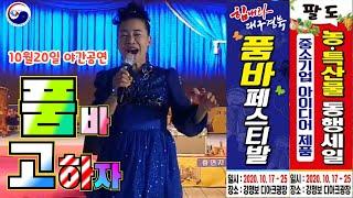 고하자 품바 대구 강정보 10월20일 야간공연