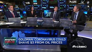 Goldman: Coronavirus could shave $3 off oil prices