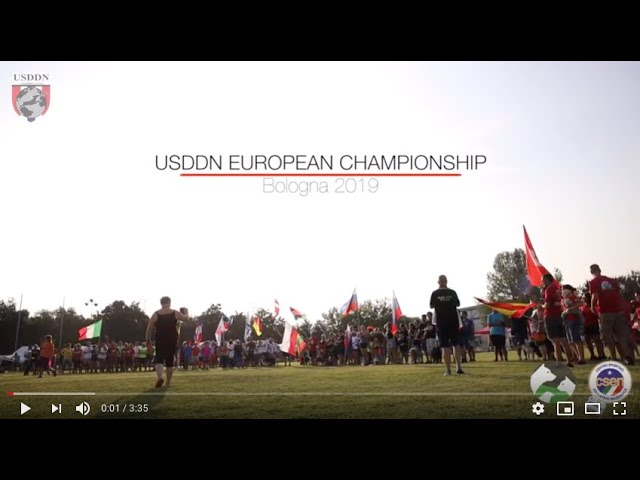 DISC DOG - USDDN EUROPEAN CHAMPIONSHIP 2019