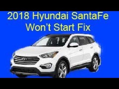 hyundai santa fe won t start fix youtube hyundai santa fe won t start fix